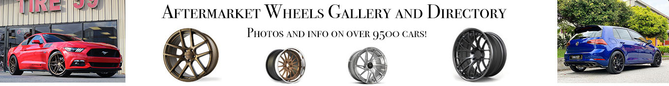 Aftermarket Wheels gallery and directory