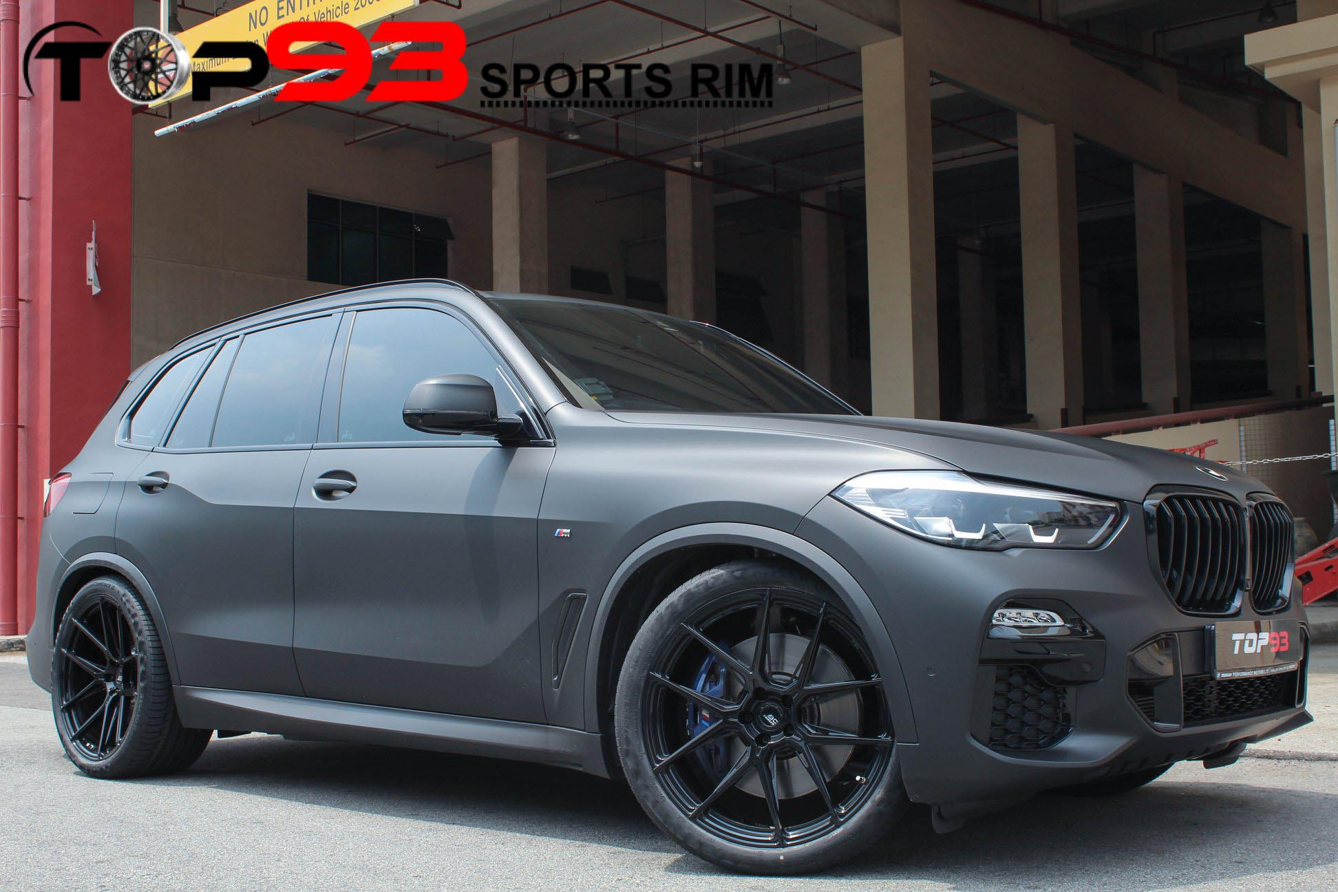 Bmw X5 G05 Black Bc Forged Eh181 Wheel Front